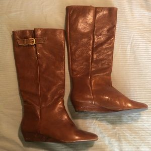 Steven Intyce rising boot cognac -  size 7.5